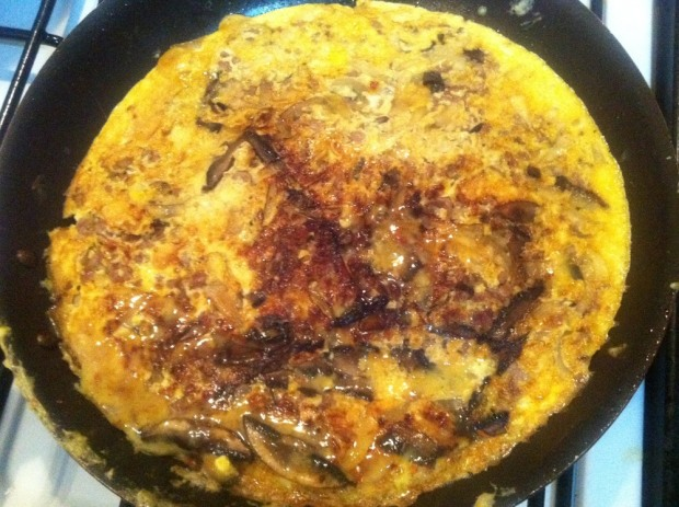 Onions in omelettes make a fantastic combination!