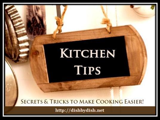 Kitchen Tips!