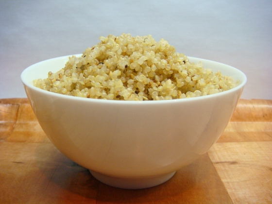 Freshly-Cooked Quinoa